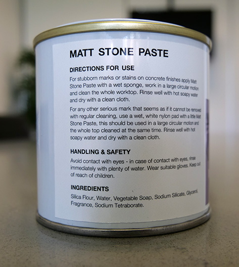 Apollo Matt Stone Paste Directions