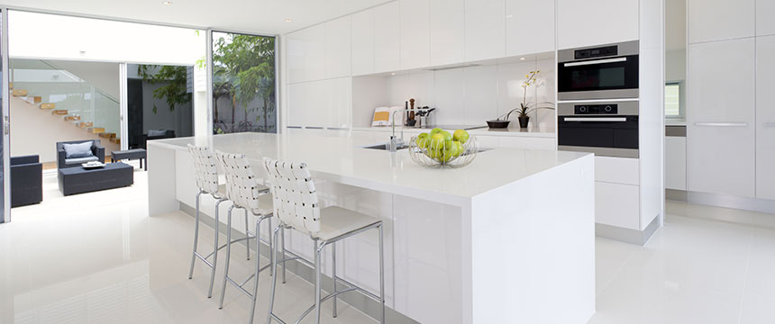 Corian worktops by Sheridan