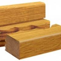 Square Pencil Wood Upstand