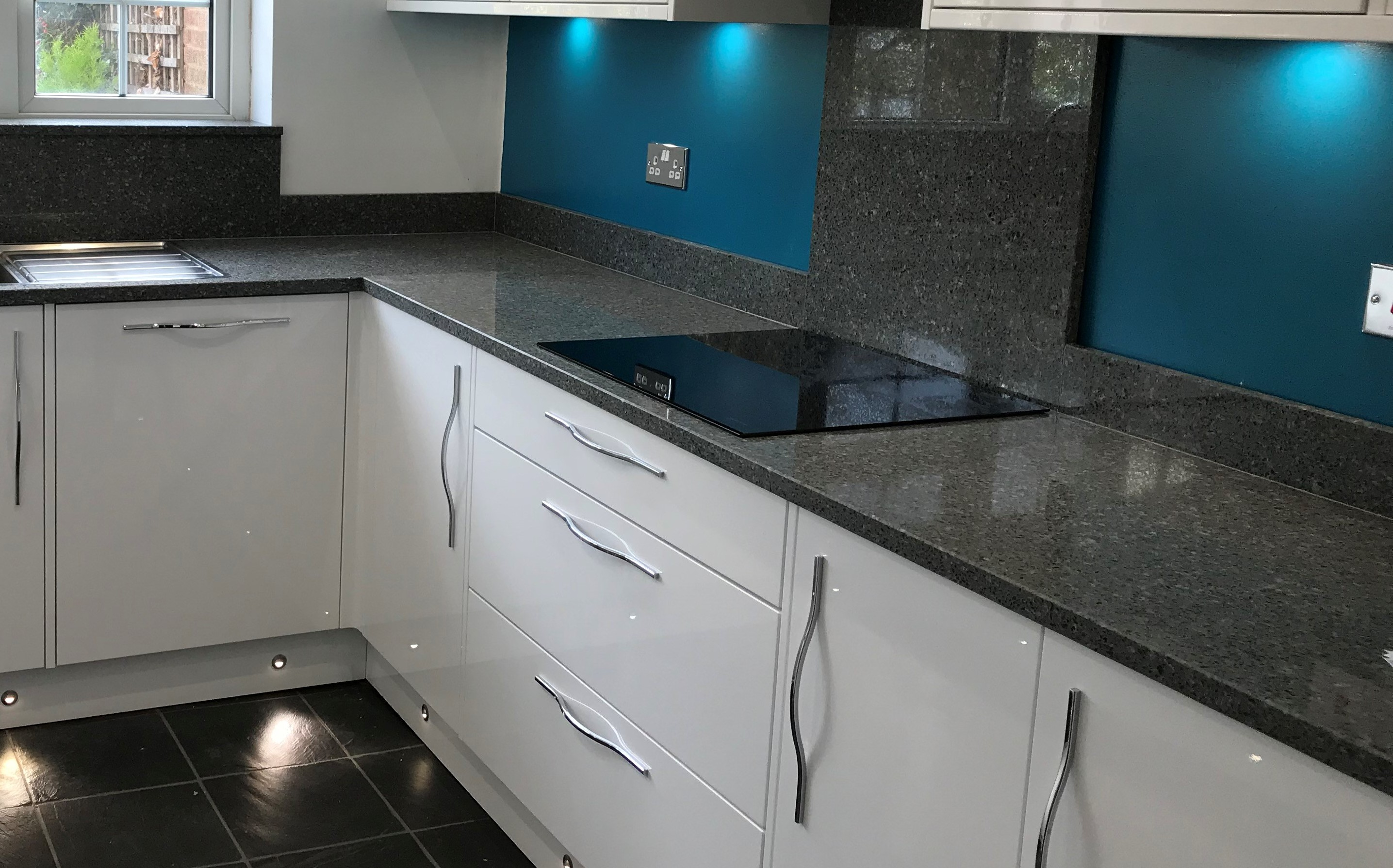 Recycled Glass Eco worktop